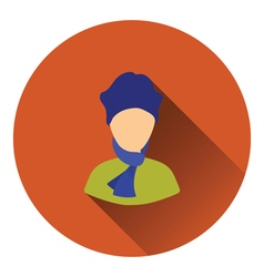 Poet icon vector image