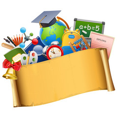 School graduation concept vector