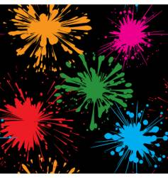 splash background seamless vector image