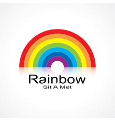 Symbol rainbow vector