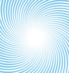 rotating rays background vector image vector image
