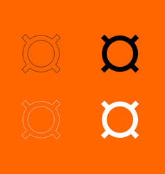 computer symbol any currency icon vector image