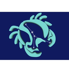 cancer sign vector image