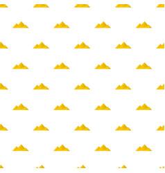 Climb on mountain pattern seamless vector