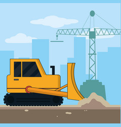 Construction industry concept vector
