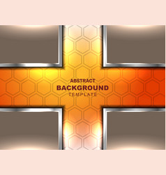Cross abstract neutral background vector