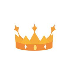Crown monarch jewel treasure luxury vector