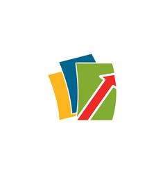 Data share logo vector