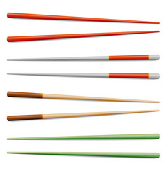 food chopsticks set isolated icon symbol vector image
