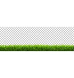 Grass border transparent background vector