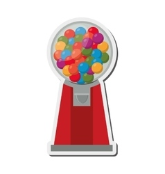 Gumball Machine icon vector image