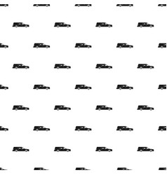 Hearse pattern vector