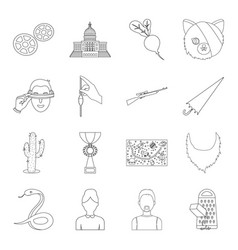 Kitchen country sport and other web icon in vector