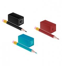 Pencil sharpener vector