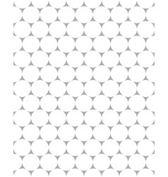 seamless pattern of white dots vector image vector image
