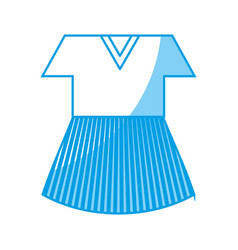 women dress icon vector image