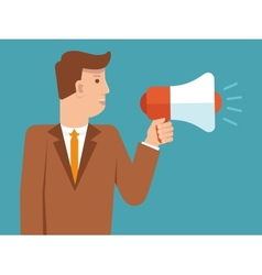 marketing concept in flat style vector image