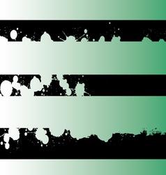 Black Grunge Strips 4 vector image vector image