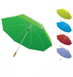 opened umbrella vector image vector image