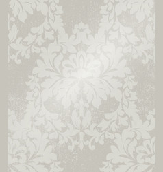 baroque intricate pattern design luxury classic vector image