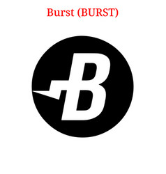 Burst burst logo vector