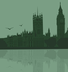 city of London vector image
