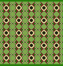 ethnic seamless pattern kente cloth tribal print vector image