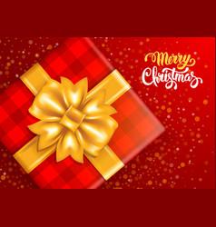 Festive christmas greeting card vector