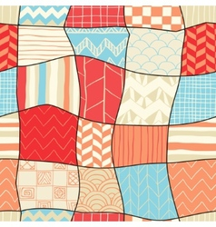 Geometric Hand-drawn Abstract Seamless Background vector