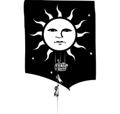 Sun Balloon vector image