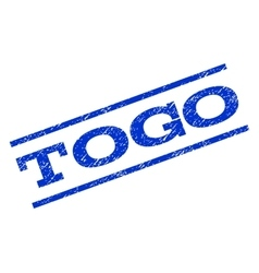 Togo Watermark Stamp vector