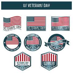 US veterans day vector image