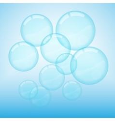 Bubbles vector image