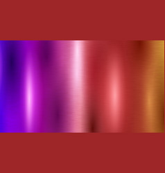 Abstract colored metal background vector