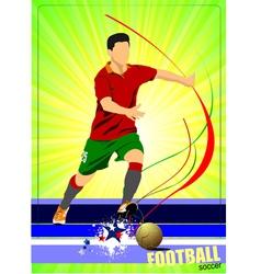 Al 0345 soccer poster 02 vector