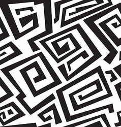 ancient monochrome seamless texture vector image vector image