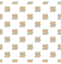 book student pattern seamless vector image
