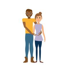 Couple romantic lifestyle image vector