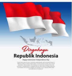 Dirgahayu indonesia vector