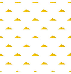 Mountain for extremal pattern seamless vector