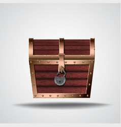 opening treasure box vector image