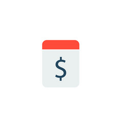 Pay day icon flat element of vector