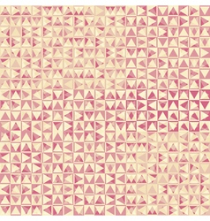 Pink triangles vector