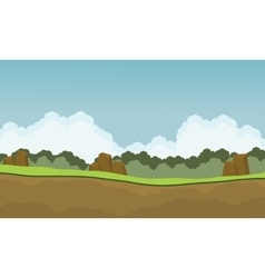 Scenery nature backgrounds game vector