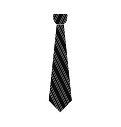 shirt tie icon simple style vector image