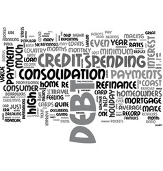 Wipe away that holiday debt text word cloud vector