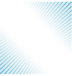 Banner made blue grids and light vector