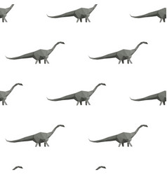 dinosaur triangle seamless pattern backgrounds vector image