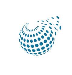 Global icon design vector