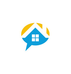 House talk logo vector